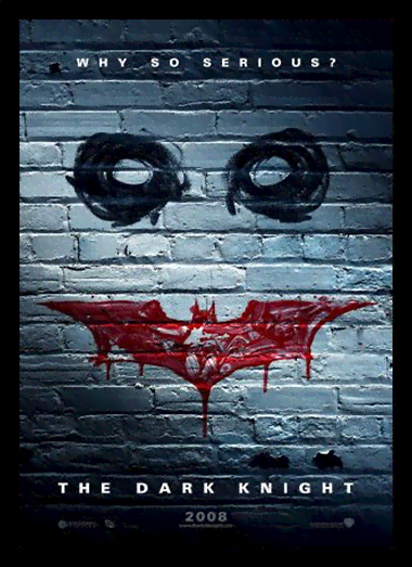 Quadro Poster Cinema Filme The Dark Knight 3