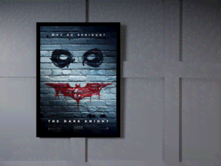 Quadro Poster Cinema Filme The Dark Knight 3 na internet