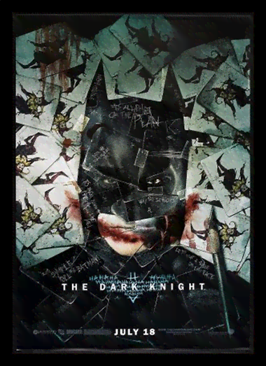 Quadro Poster Cinema Filme The Dark Knight 4