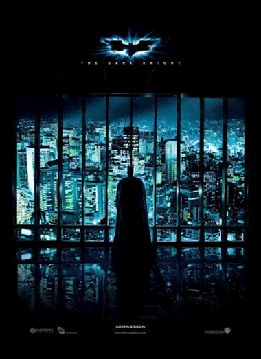 Quadro Poster Cinema Filme The Dark Knight 5