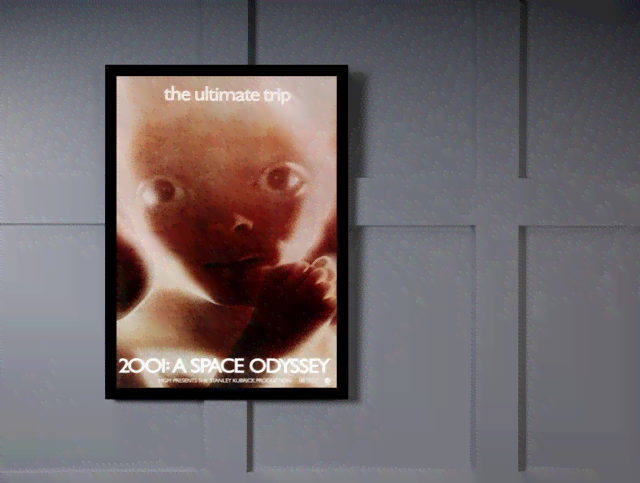 Quadro Poster Cinema Filme 2001 A Space Odyssey na internet