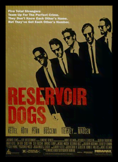 Quadro Poster Cinema Filme Reservoir Dogs