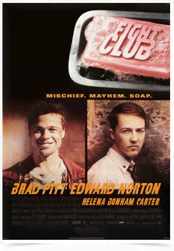 Poster Cinema Filme Fight Club