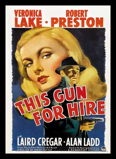 Quadro Poster Cinema Filme This Gun For Hire