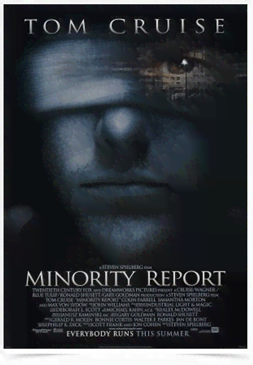 Poster Cinema Filme Minority Report