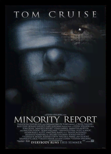 Quadro Poster Cinema Filme Minority Report