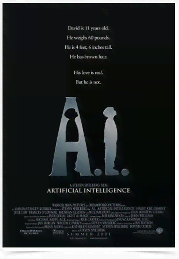 Poster Cinema Filme Artificial Intelligece
