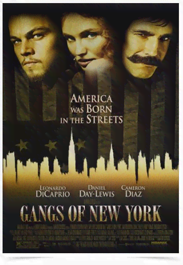 Poster Cinema Filme Gangs of New York