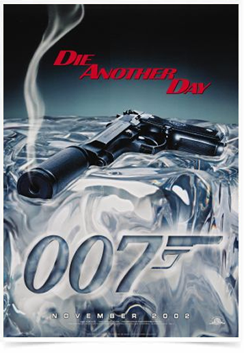 Poster Cinema Filme 007 Die Another Day
