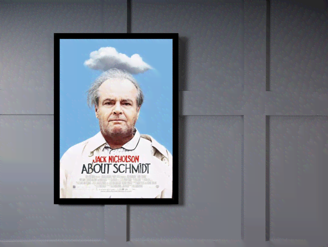 Quadro Poster Cinema Filme About Schmidt na internet