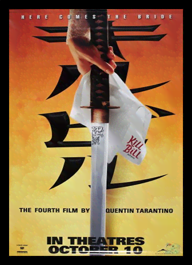 Quadro Poster Cinema Filme Kill Bill