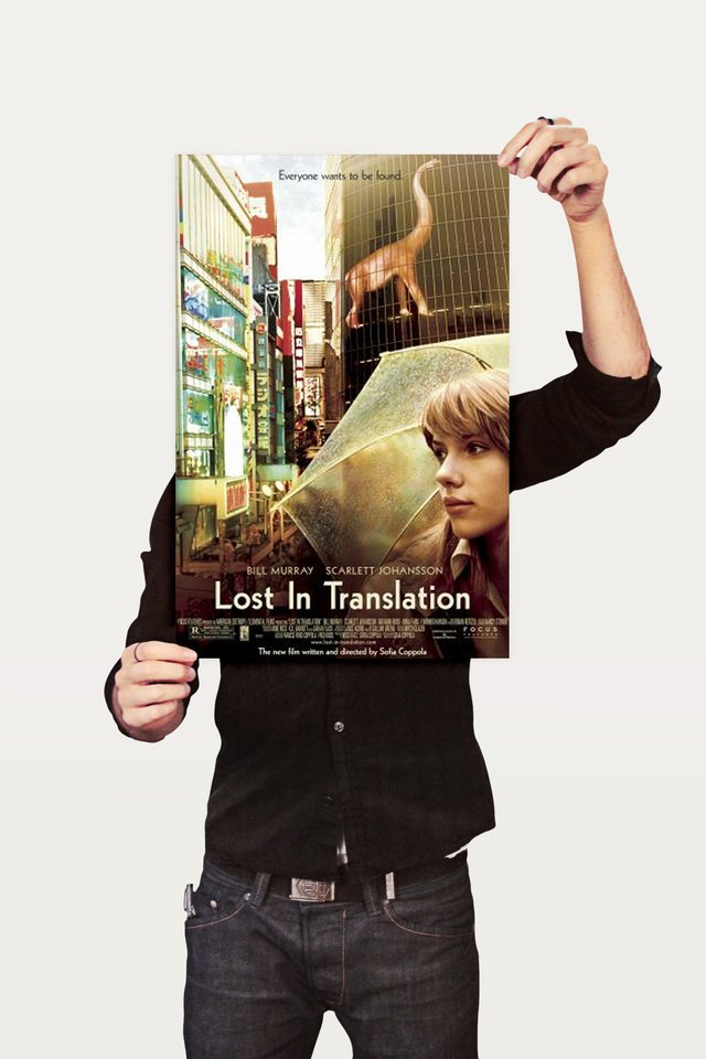 Poster Cinema Filme Lost in Translation 1 - comprar online