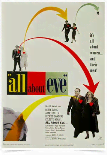 Poster Cinema Filme All About Eve