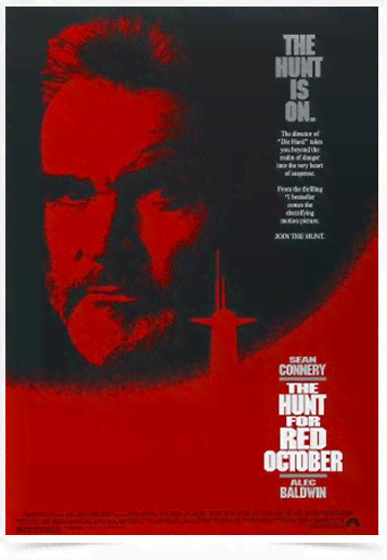 Poster Cinema Filme The Hunt For Red October