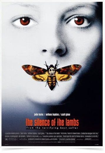 Poster Cinema Filme The Silence of The Lambs