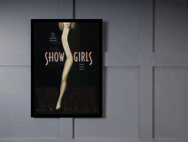 Quadro Poster Cinema Filme Show Girls na internet
