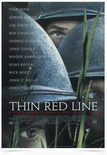 Poster Cinema Filme Thin Red Line