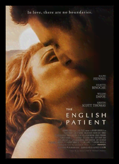 Quadro Poster Cinema Filme English Patient