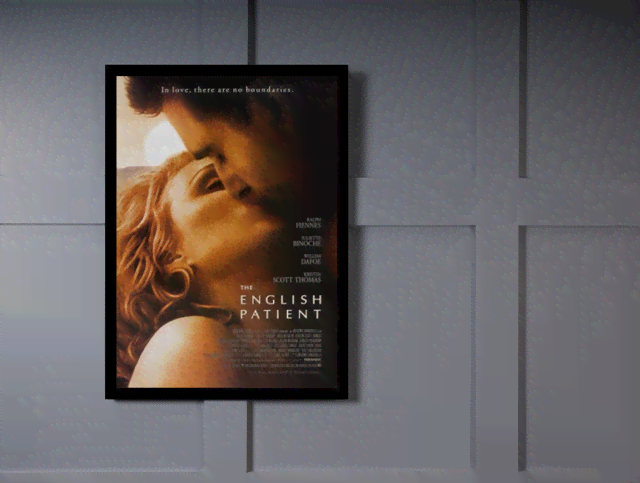 Quadro Poster Cinema Filme English Patient na internet