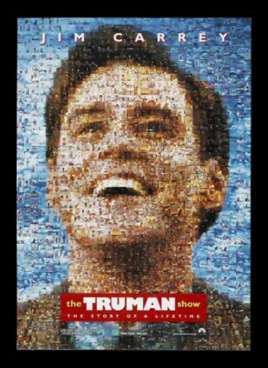 Quadro Poster Cinema Filme The Truman Show