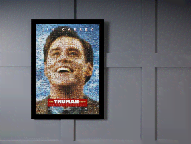 Quadro Poster Cinema Filme The Truman Show na internet