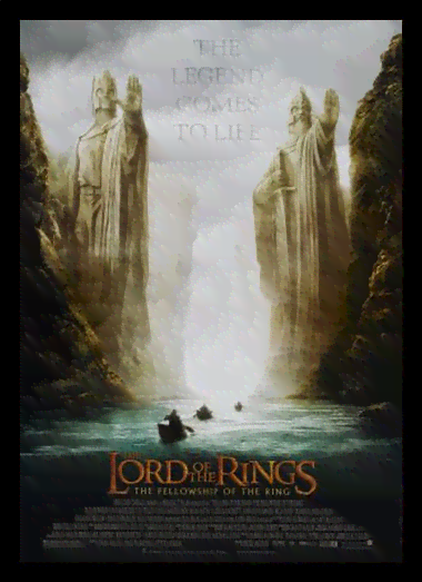 Quadro Poster Cinema Filme Lord of The Rings