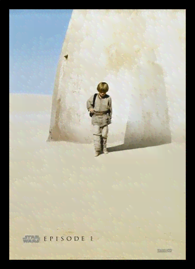 Quadro Poster Cinema Filme Star Wars Episode 1
