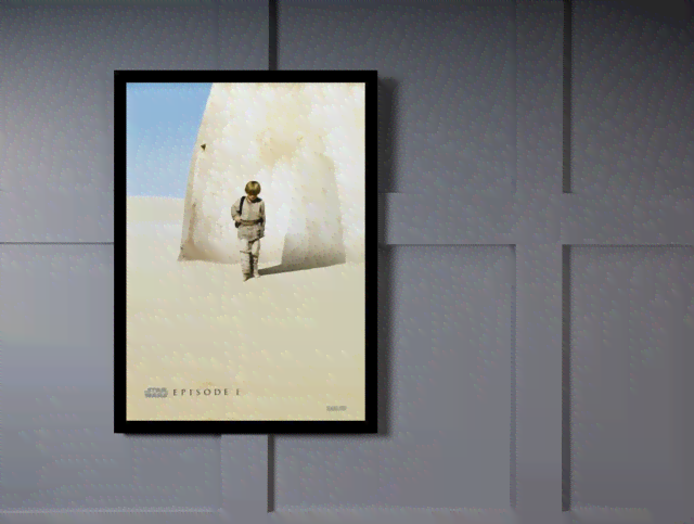 Quadro Poster Cinema Filme Star Wars Episode 1 na internet