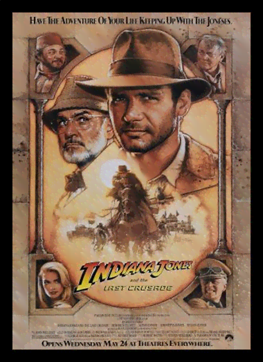 Quadro Poster Cinema Filme Indiana Jones