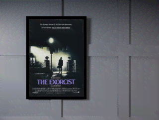 Quadro Poster Cinema Filme The Exorcist na internet