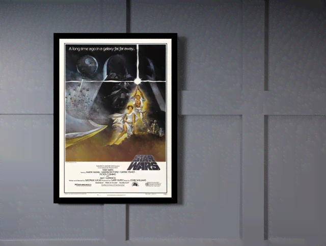 Quadro Poster Cinema Filme Star Wars na internet