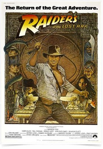 Poster Cinema Filme Raiders
