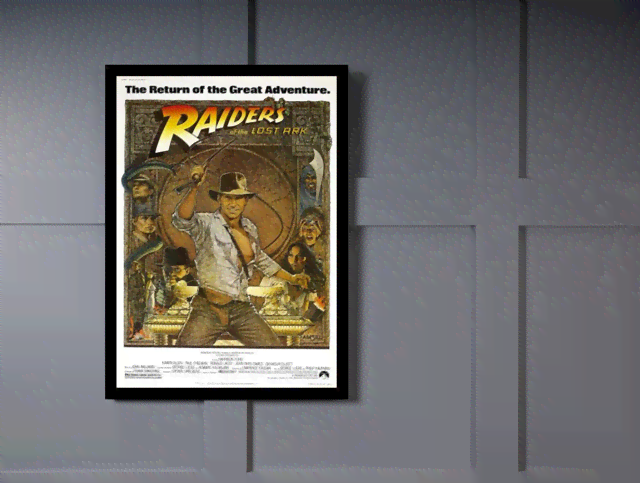 Quadro Poster Cinema Filme Raiders na internet