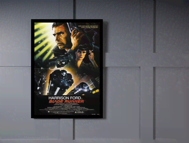 Quadro Poster Cinema Filme Blade Runner na internet