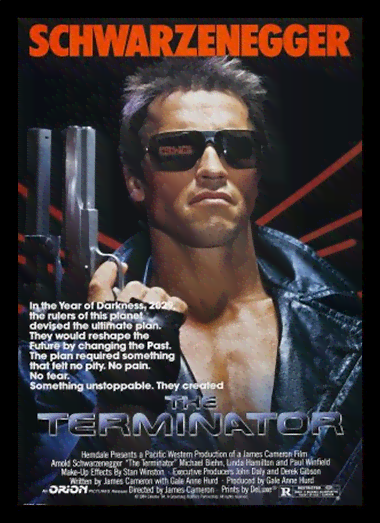 Quadro Poster Cinema Filme The Terminator