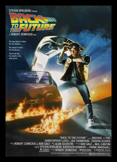 Quadro Poster Cinema Filme Back to the Future
