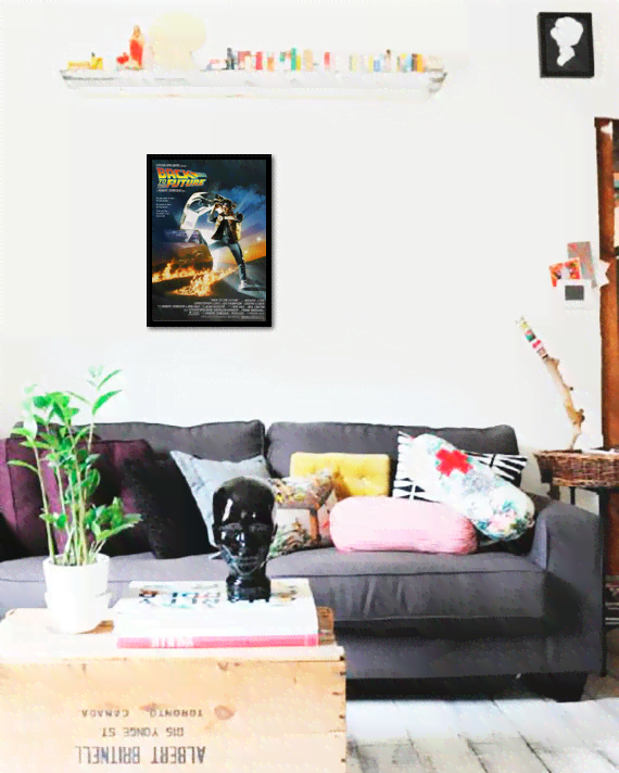 Quadro Poster Cinema Filme Back to the Future - comprar online