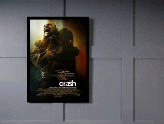 Quadro Poster Cinema Filme Crash na internet