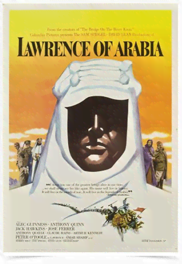Poster Cinema Filme Lawrence of Arabia