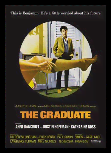 Quadro Poster Cinema Filme The Graduate