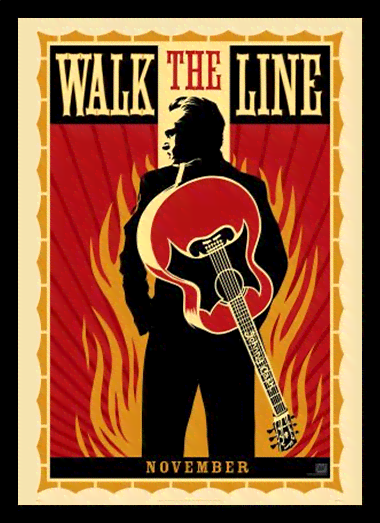 Quadro Poster Cinema Filme Walk the Line