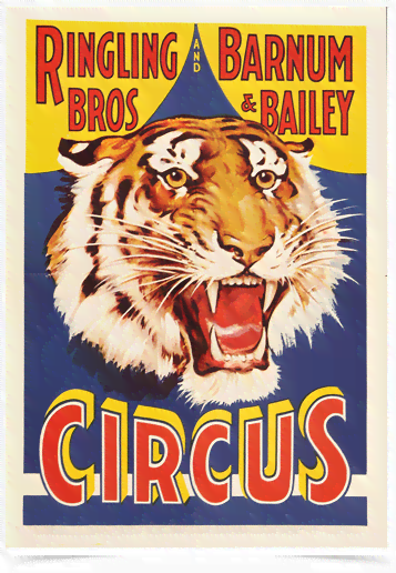 Poster Cinema Ringling Bros