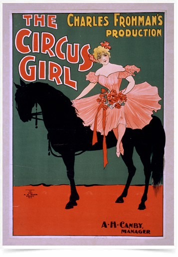 Poster Propaganda The Circus Girl