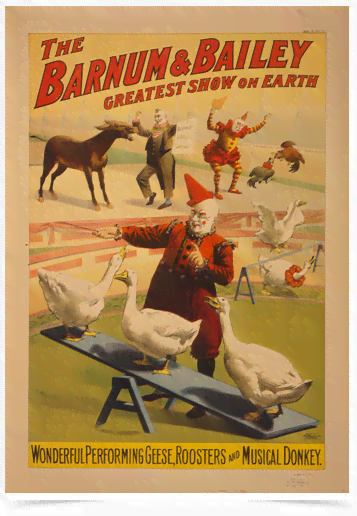 Poster Cinema The Barnum e Bailey