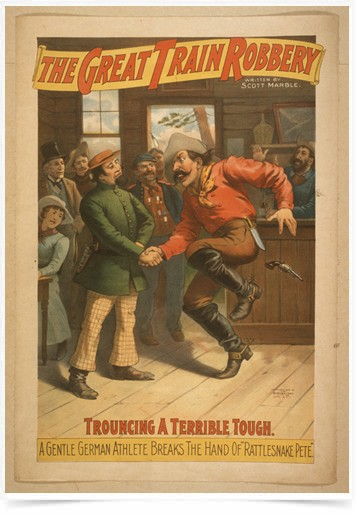 Poster Propaganda The Great Train Robbery 1