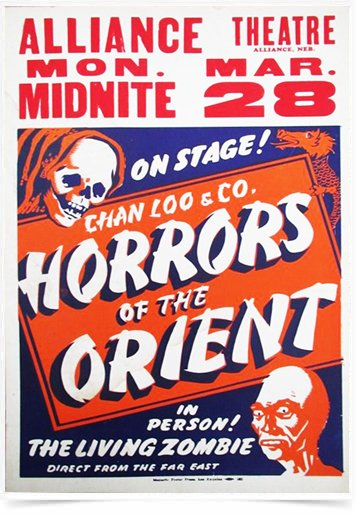 Poster Propaganda Horrors of the Orient