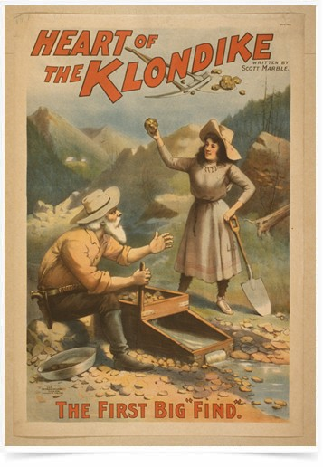 Poster Propaganda Heart of the Klondike
