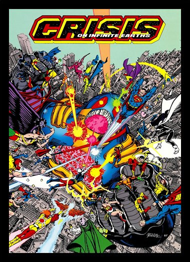 Quadro Poster HQ Crisis on Infinite Earths 2