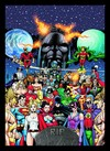 Quadro Poster HQ Crisis on Infinite Earths 7