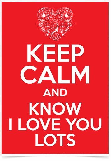 Poster Frases Keep Calm Lots - Decor10